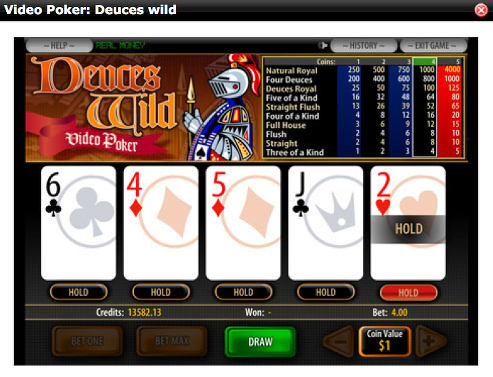 different online casino software